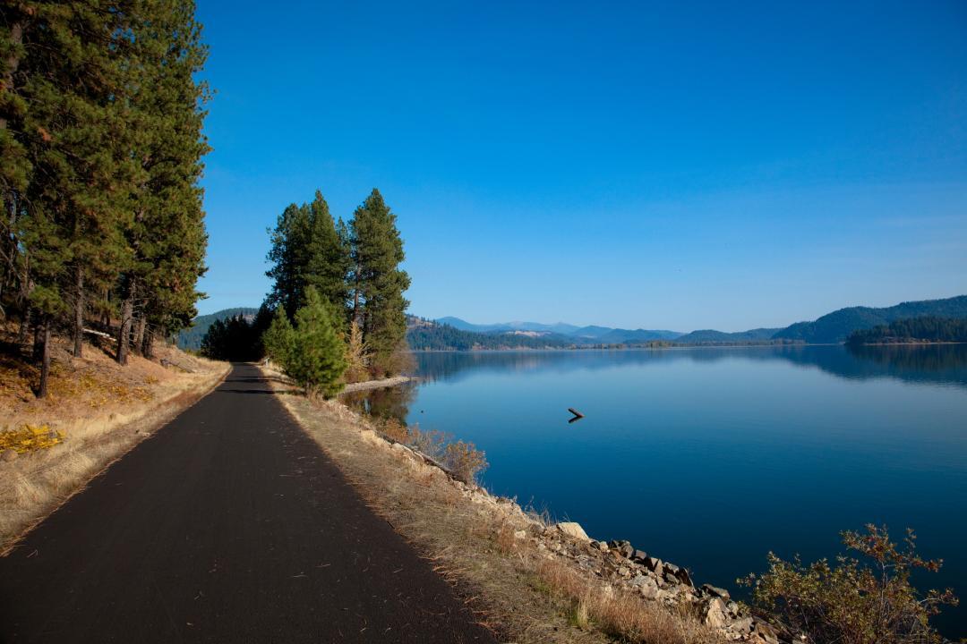 Un espace panoramique pour les retraites dans le nord de l'Idaho