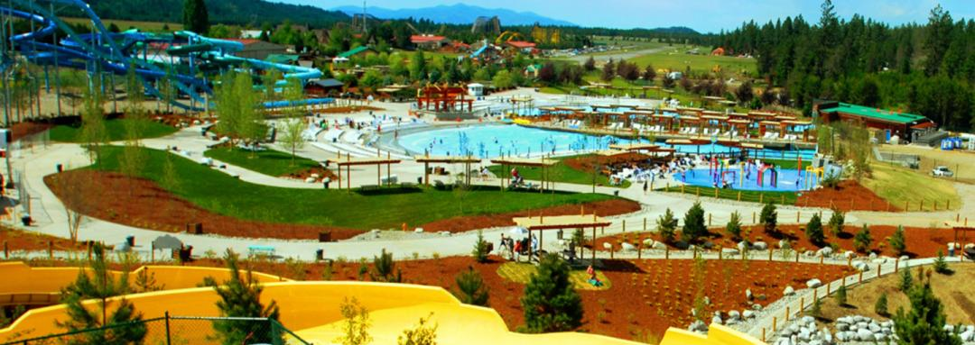 Minutes From the Fun at Silverwood Theme Park